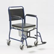Инвалидное кресло двойного назначения (каталка и/или туалет) новое!