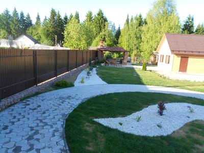 Ландшафтный дизайн участка пермь