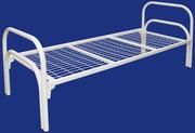 Железные армейские кровати,  одноярусные металлические для больниц