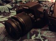Фотоаппарат Canon EOS 1200D cсумкой и объективом