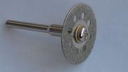 Диск отрезной алмазный диаметр 22 мм. для бормашинки